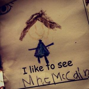 mrs mccain